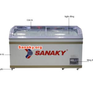 Chi tiết tủ đông Sanaky VH-8088K