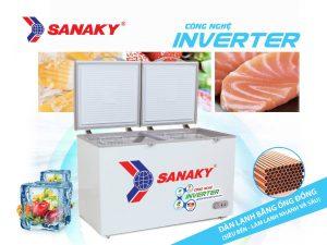 Tủ đông Sanaky 1 ngăn 2 cánh mở