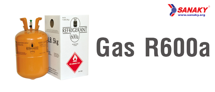 Chất làm lạnh gas R600a cho hiệu suất làm lạnh cao