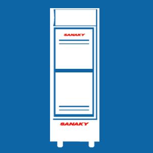 Tủ mát Sanaky 2 cánh mở trên dưới