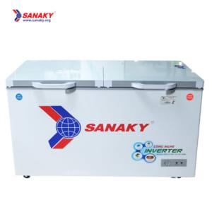 Tủ đông mát Sanaky Inverter kính cường lực