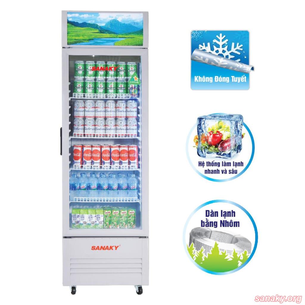 Tủ mát Sanaky VH-258K | Tủ mát siêu thị