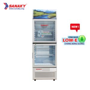 Tủ mát sanaky inverter công nghệ low-e