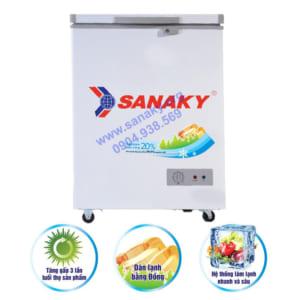 Tủ cấp đông mini Sanaky VH-1599HY