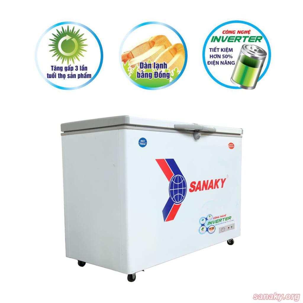 Tủ đông Sanaky Inverter VH-2599W3