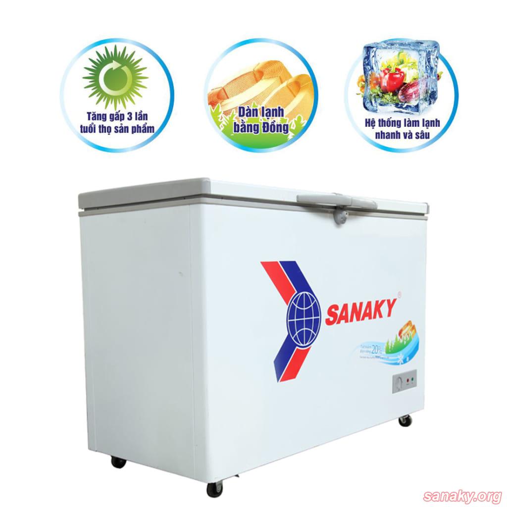 Tủ đông 1 ngăn 2 cánh Sanaky VH-4099A1