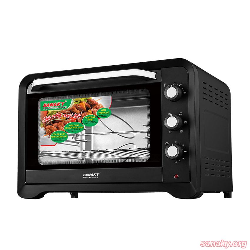 Lò nướng Sanaky VH-809S2D dung tích 80 lít