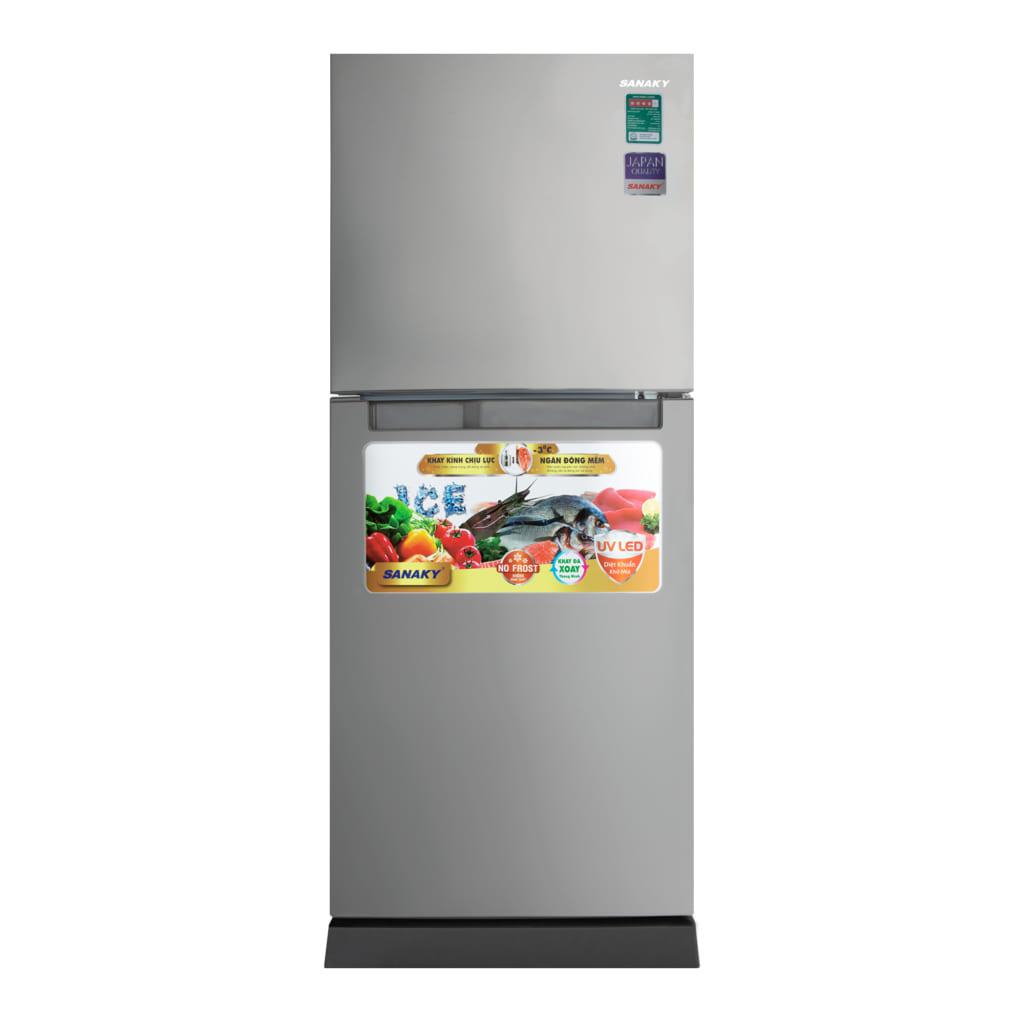 Tủ lạnh Sanaky VH-2088HPN dung tích 205L (Xám)