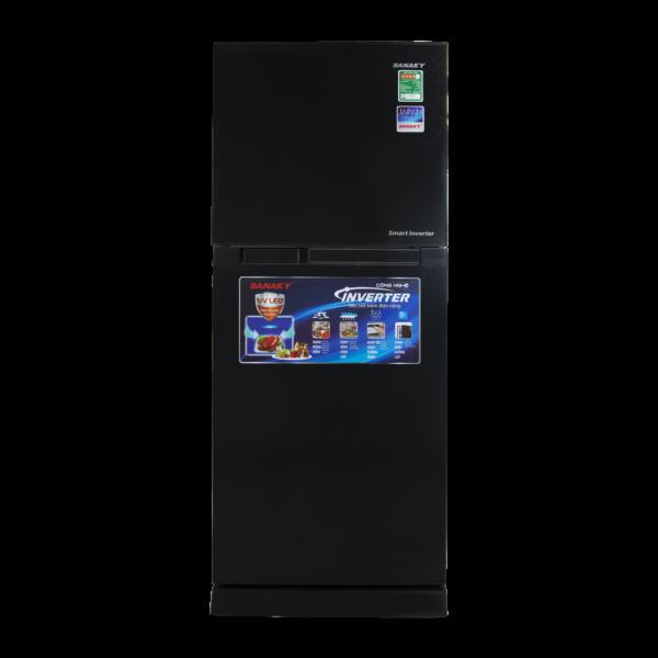 Tủ lạnh Sanaky Inverter VH-199KD (Kính Đen)