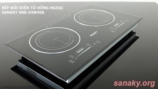 Bếp Đôi Điện Từ - Hồng Ngoại Sanaky SNK-IHW40A