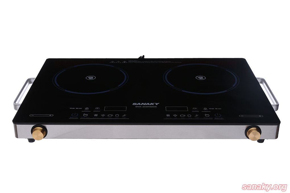 Bếp hồng ngoại đôi Sanaky SNK-203HGW công suất 4000W