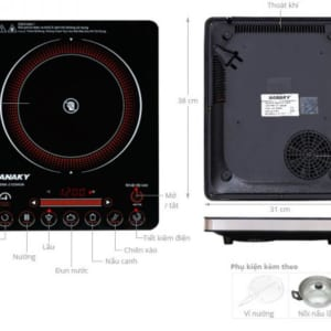 Bếp hồng ngoại, Sanaky SNK - 2103HGN