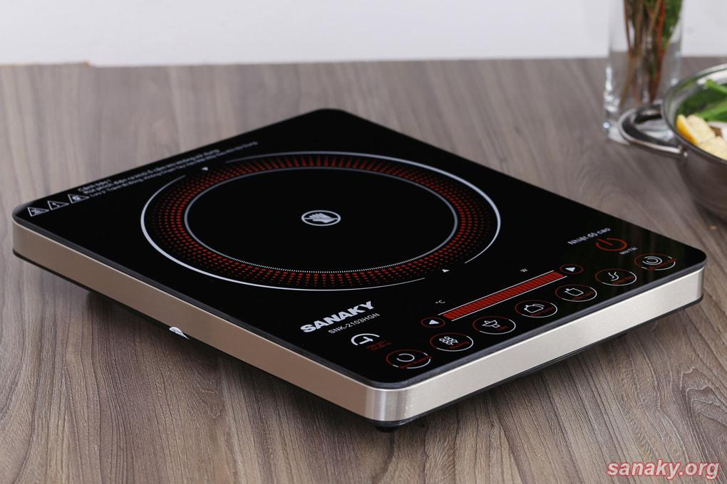 Bếp hồng ngoại Sanaky SNK-2103HGN công suất 2000W