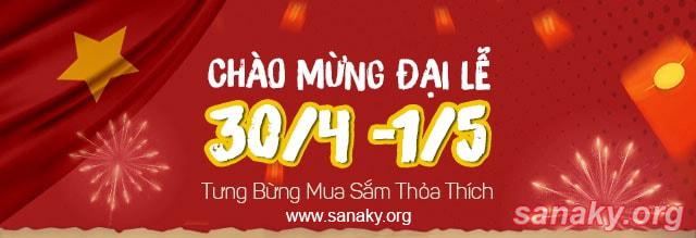 Khuyến mãi 30/4 - 1/5 | Tủ đông Sanaky có những ưu đãi lớn gì?