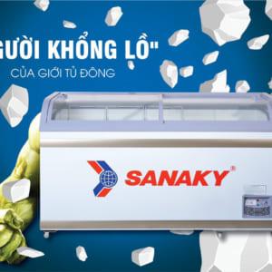 Tủ Đông Bày Hàng Siêu Thị-Cửa HàngSanaky VH-888K